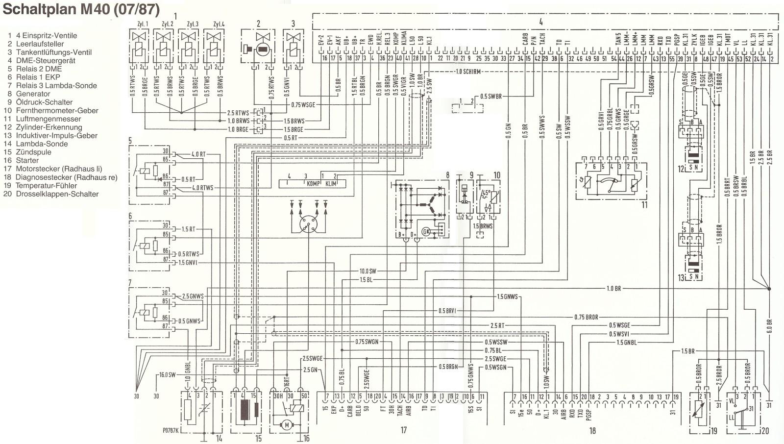 Tolle Bmw E30 Schaltplan Zeitgenössisch - Elektrische Schaltplan ...